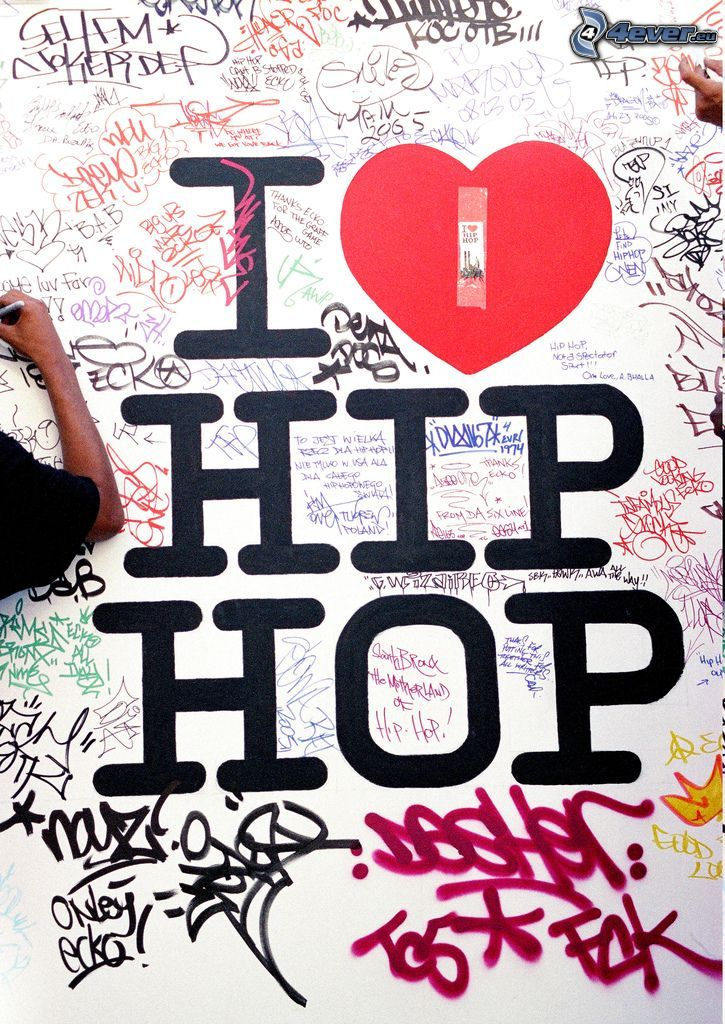 I love hip hop, graffiti