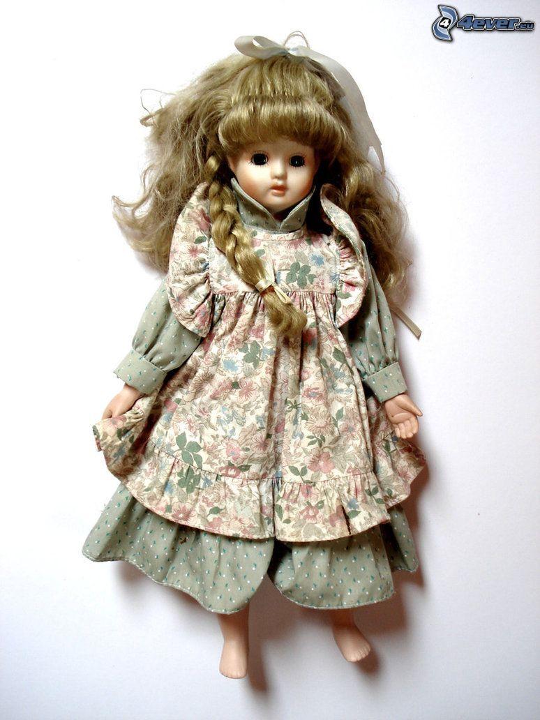 porcelanowa lalka