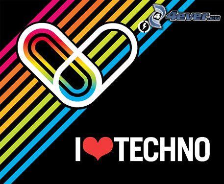 Techno, miłość