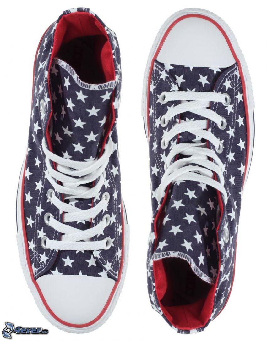 Converse, gwiazdy
