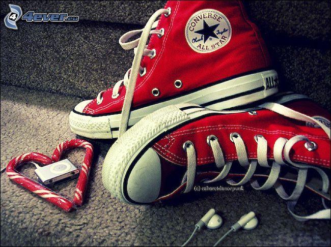 Converse, serduszko