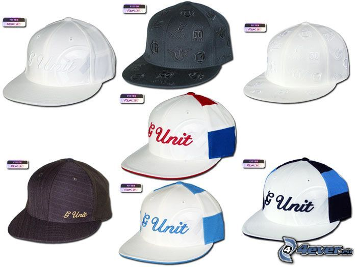 G-Unit, czapki z daszkiem, czapka