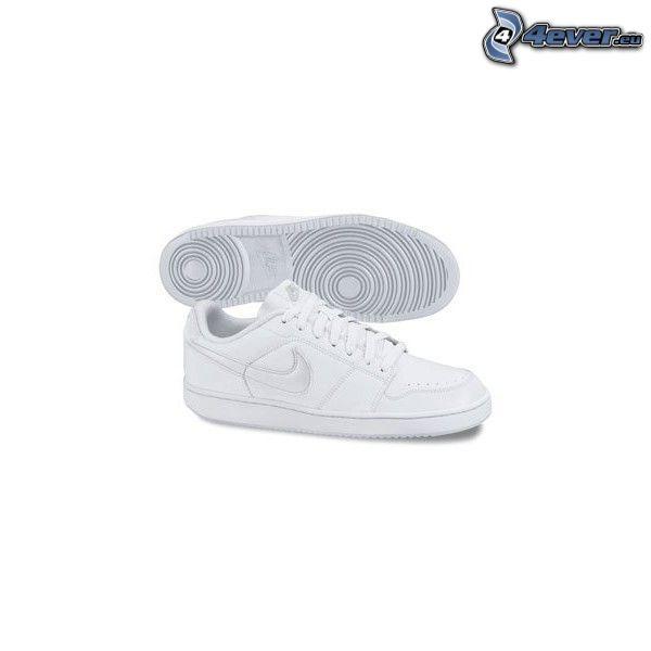 Nike, białe trampki