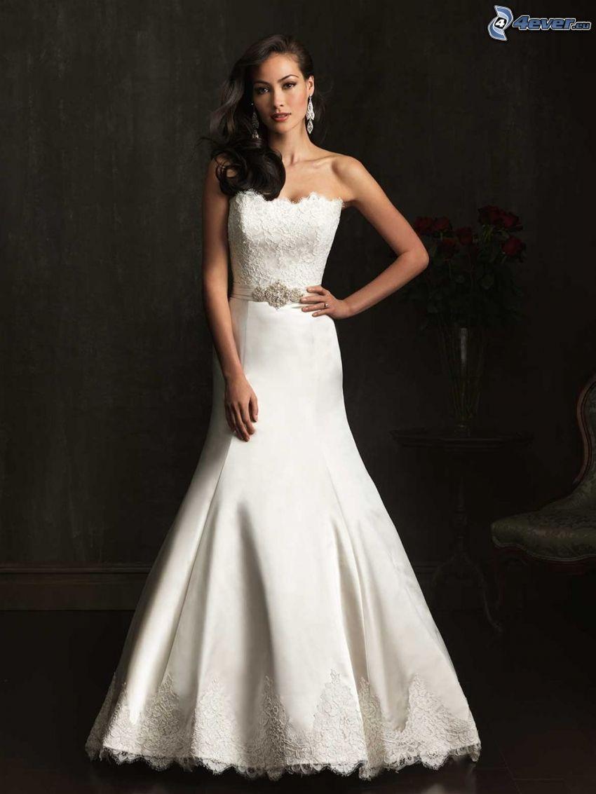 suknia ślubna, panna młoda