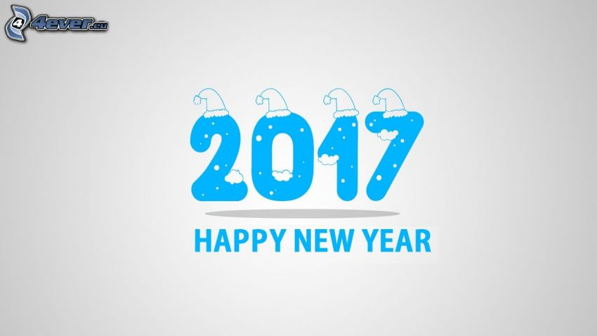 2017, Szczęśliwego Nowego Roku, happy new year