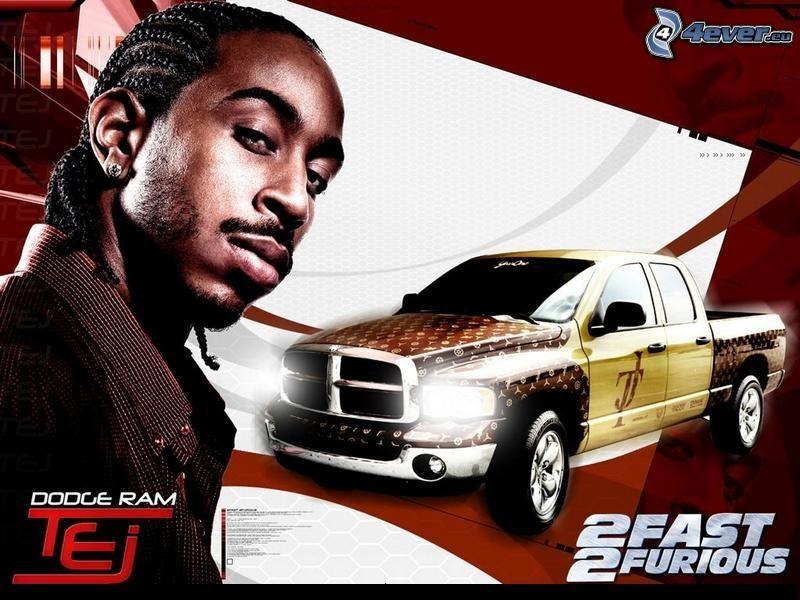 2 Fast 2 Furious, Tej, Dodge ram