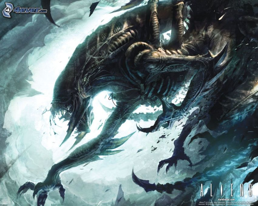 Aliens, potwór