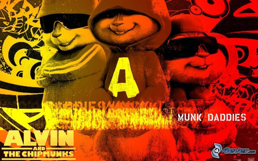 Alvin i wiewiórki