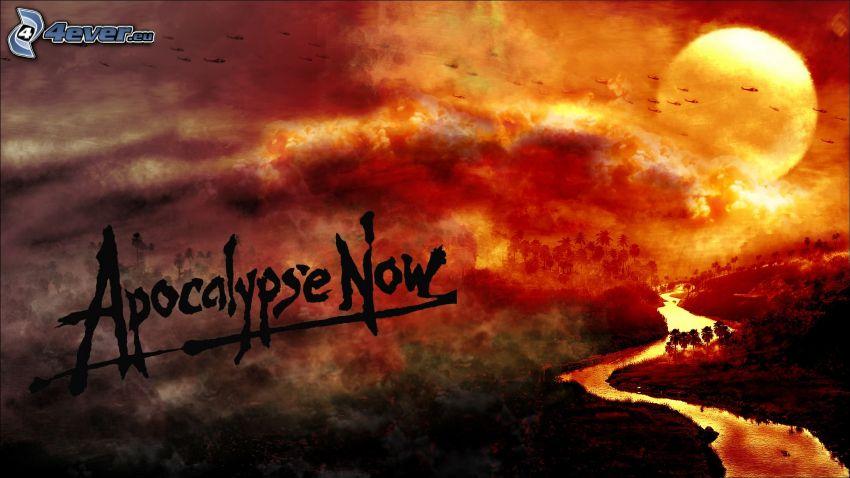 Apocalypse Now, zachód słońca