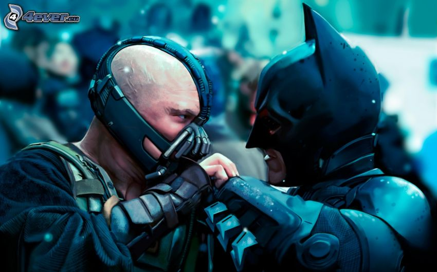 Bane, Batman, The Dark Knight Rises