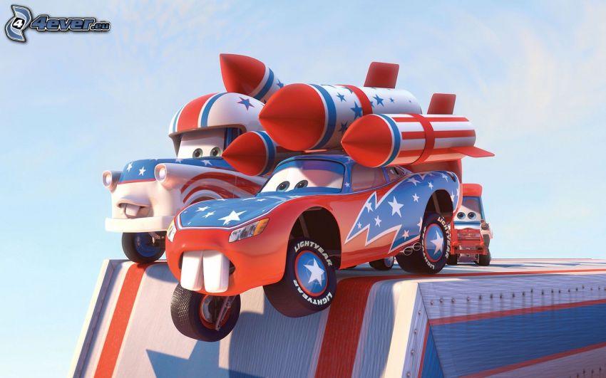 Cars, rakiety