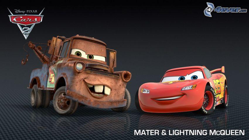 Cars 2, Mater, Lightning McQueen