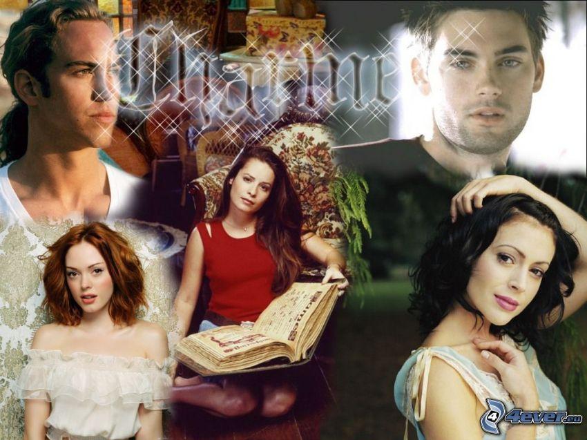 Charmed, Rose McGowan, Alyssa Milano, Holly Marie Combs, Drew Fuller