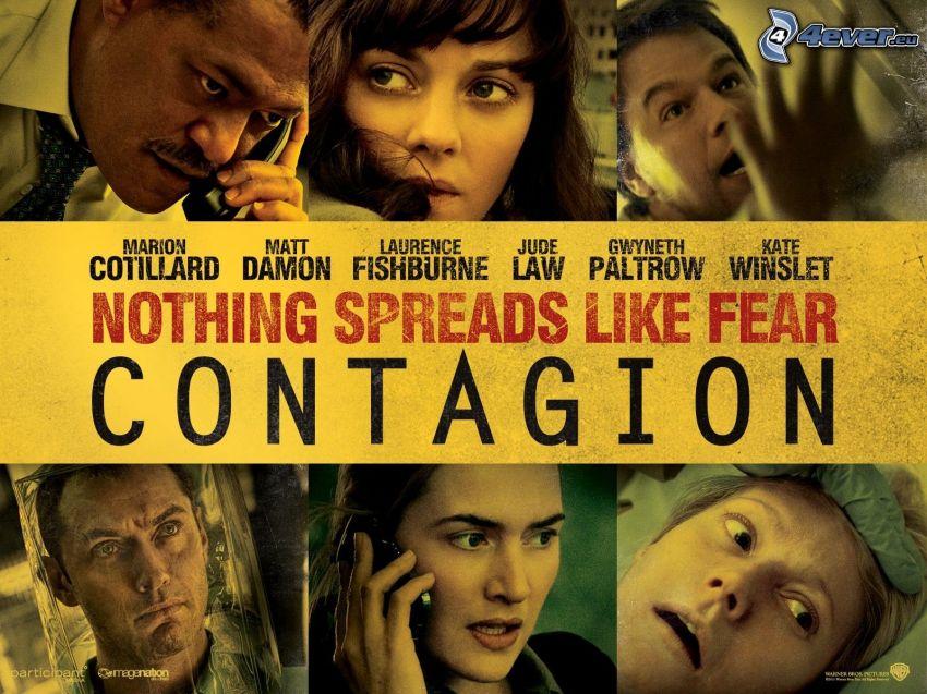 Contagion, aktorzy