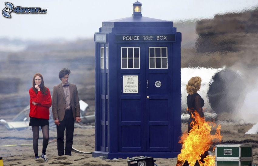 Doktor Who, budka telefoniczna