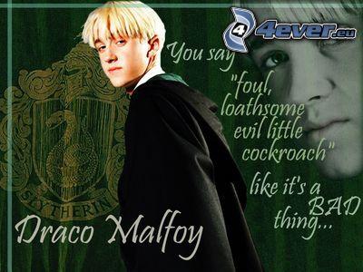Draco Malfoy, Harry Potter
