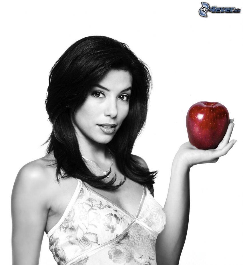 Gabrielle Solis, Gotowe na wszystko, jabłko