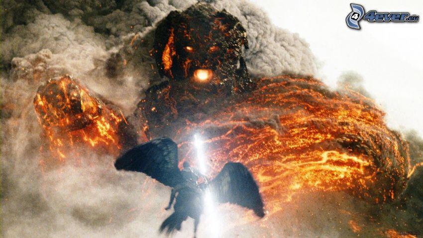 Gniew tytanów, potwór