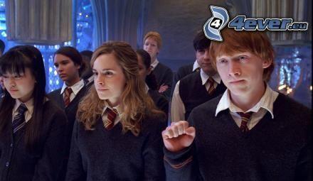 Harry Potter, aktorzy, Ron Weasley, Hermiona Granger, film