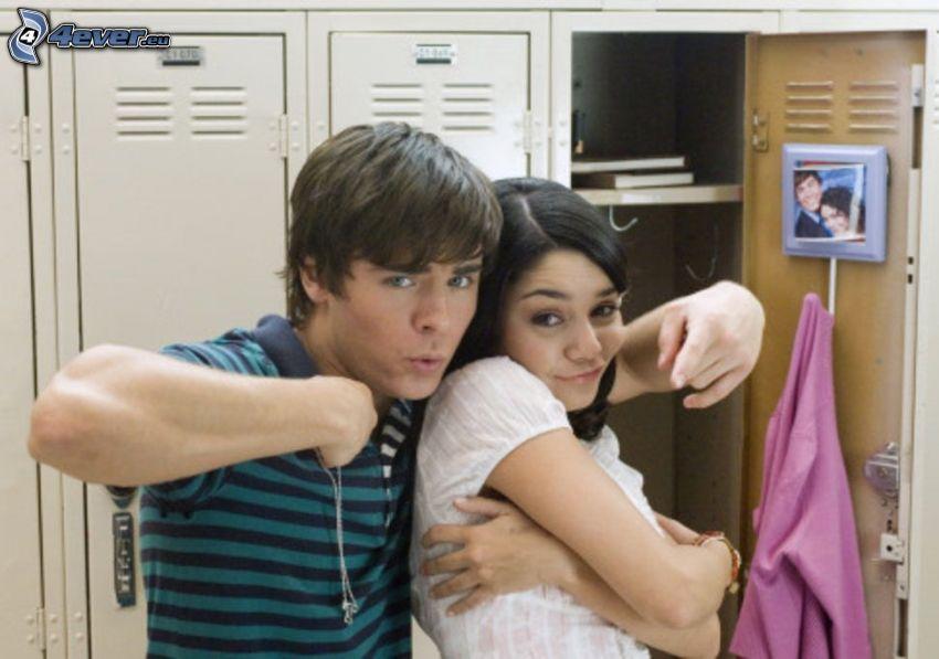 High School Musical 2, Zac Efron, Vanessa Hudgens