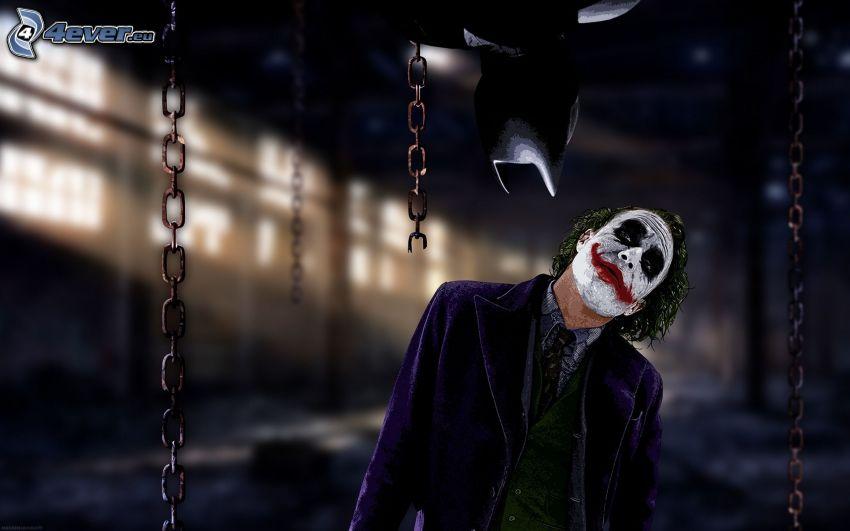 Joker, Batman, łańcuchy