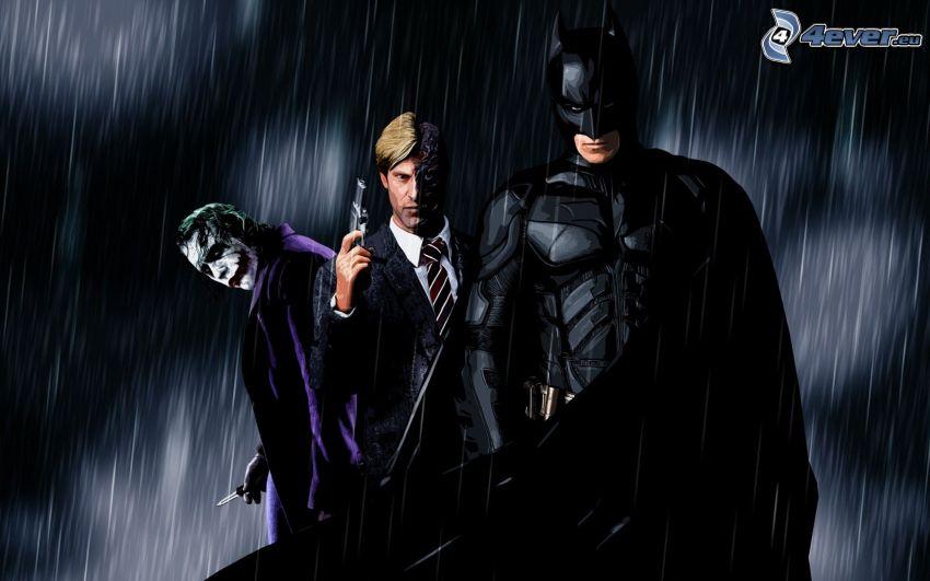 Joker, Blue, Batman, The Dark Knight Rises