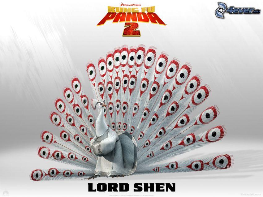Lord Shen, Kung Fu Panda, paw