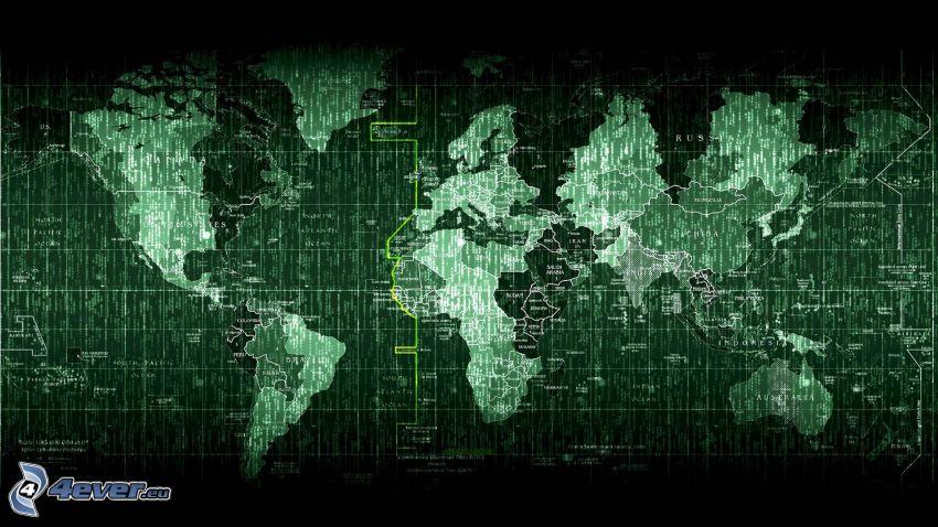 Matrix, mapa świata