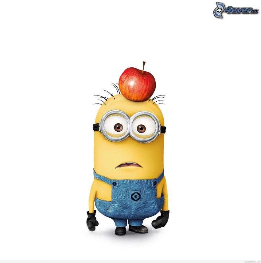 Minion, jabłko