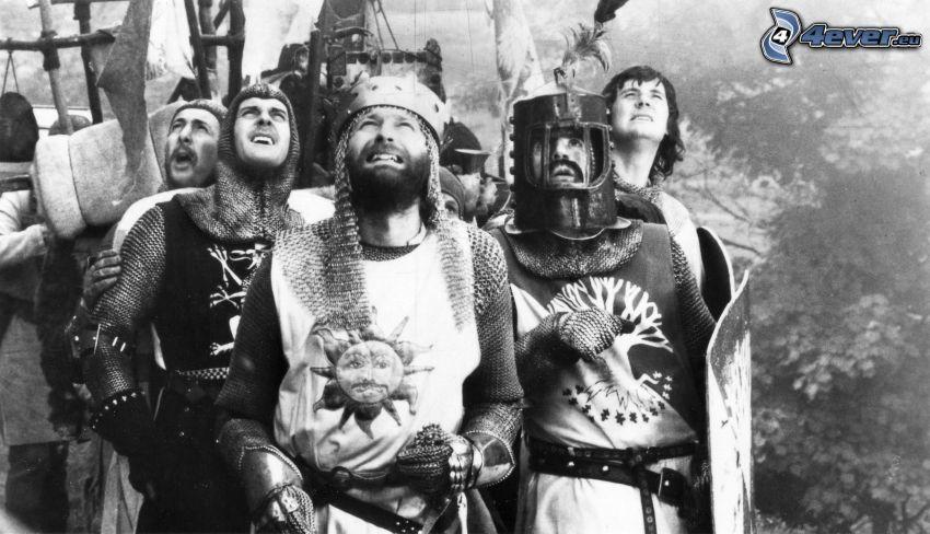 Monty Python, czarno-białe
