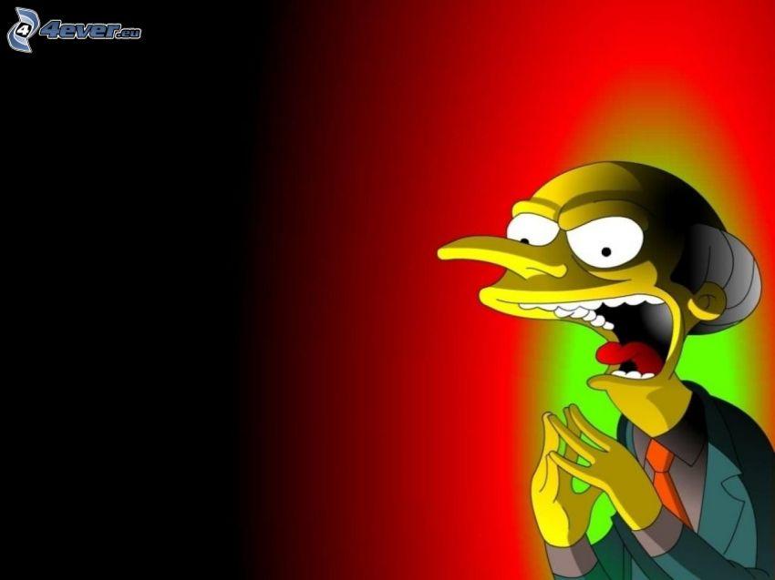 Mr. Burns, Simpsonowcy