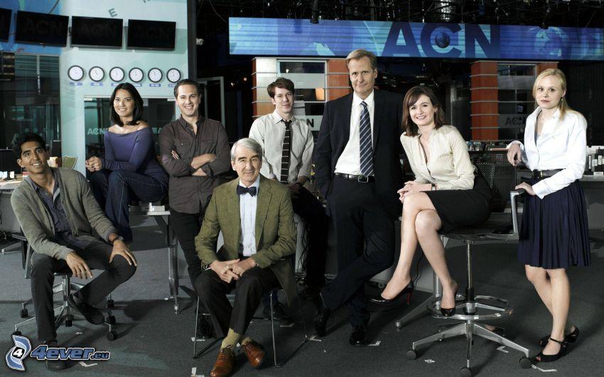 Newsroom, aktorzy