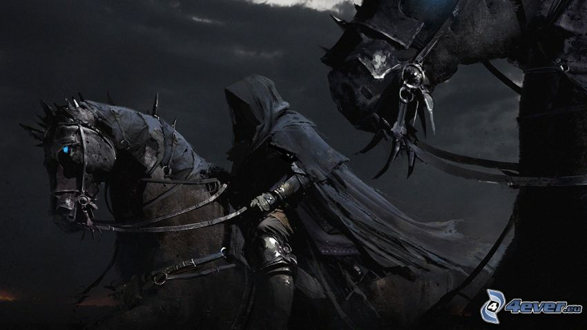 Pan Pierścieni, mroczny rycerz