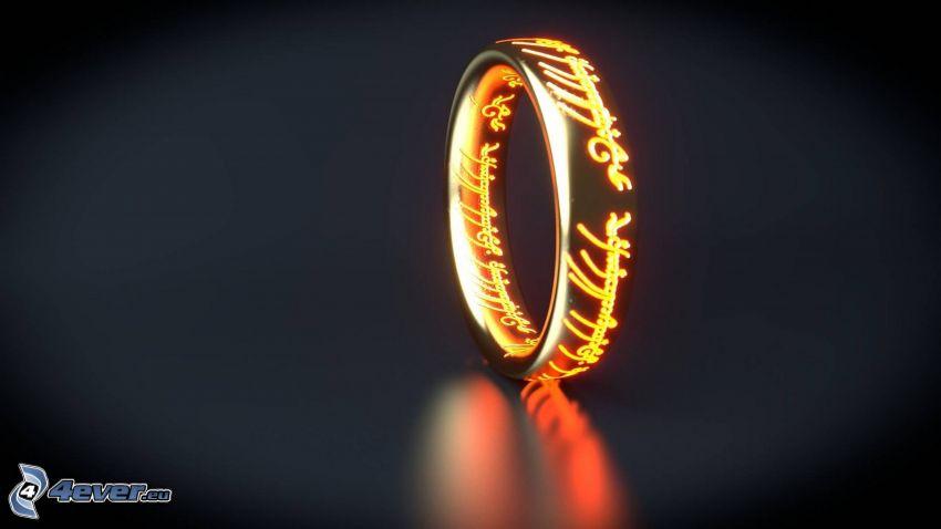 Pan Pierścieni, pierścień