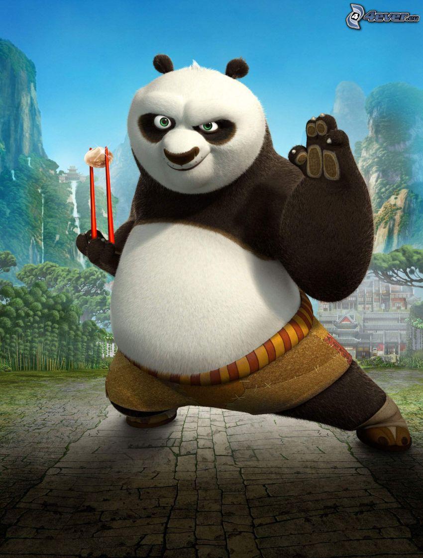 Panda Po, Kung Fu Panda 2