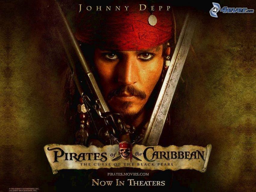 Piraci z Karaibów, Johnny Depp