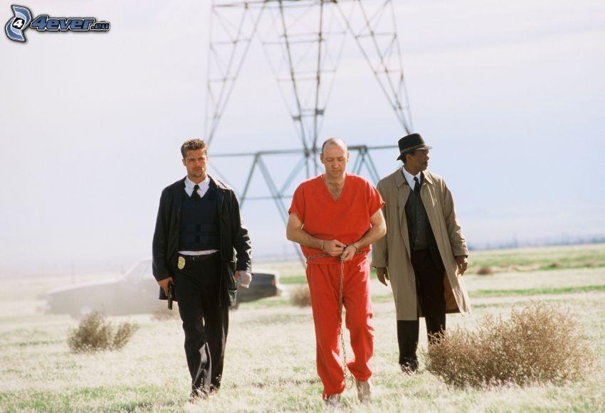 Se7en, mężczyźni, więzień