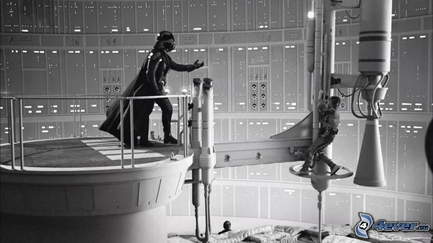 Star Wars, Darth Vader, za kulisami, nagranie
