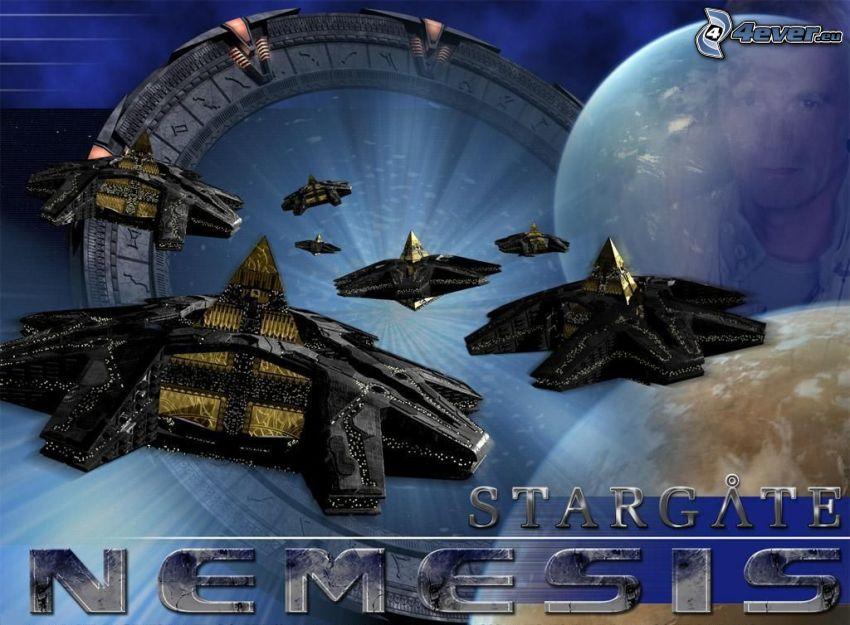 Stargate Nemesis, Goa'uld hatak, sci-fi