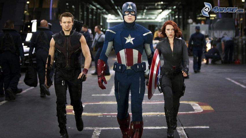 The Avengers, Captain America