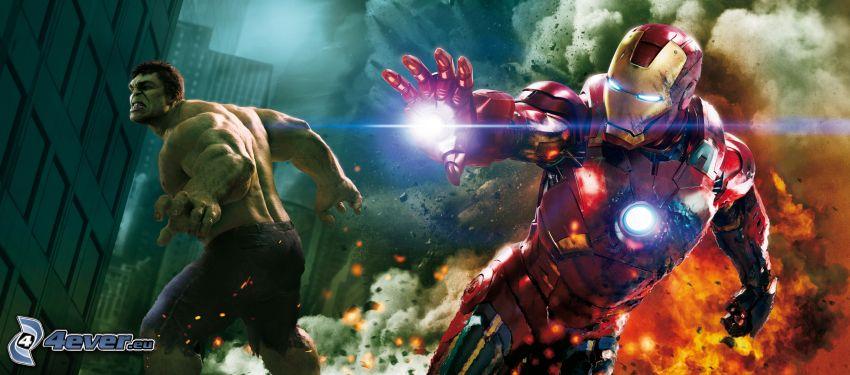 The Avengers, Hulk, Iron Man