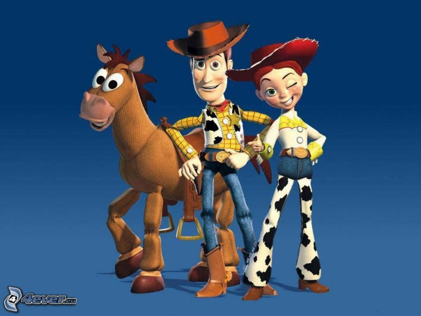 Toy Story 2, Woody