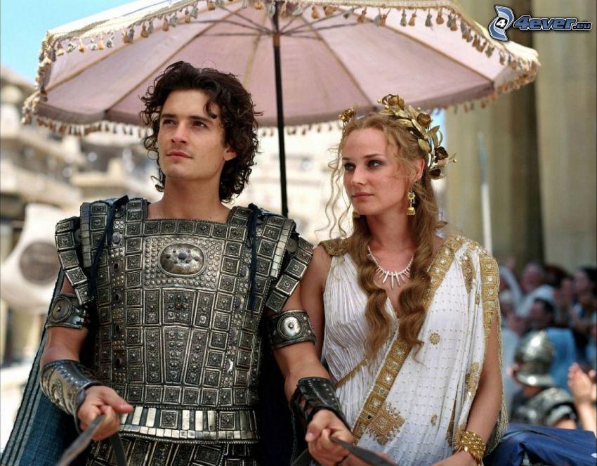 Troja, Orlando Bloom, Diane Kruger