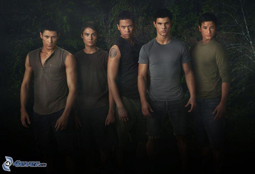 Twilight, mężczyźni, Taylor Lautner