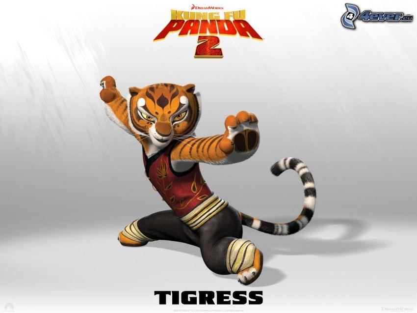 Tygrysica, Kung Fu Panda