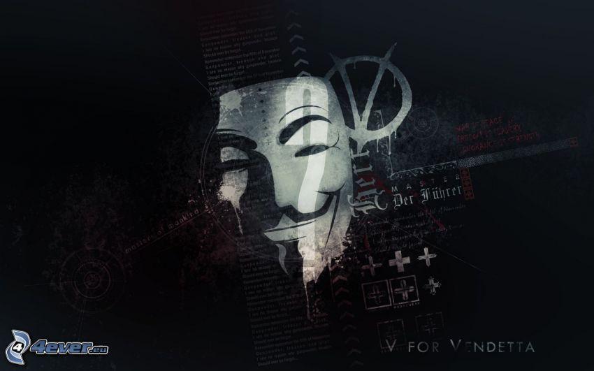 V jak Vendetta, Anonymous