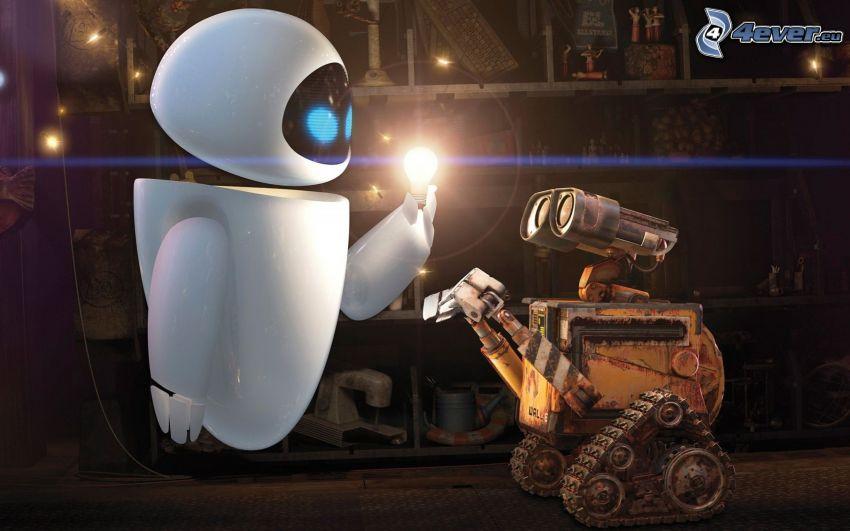 WALL·E, roboty, bajka