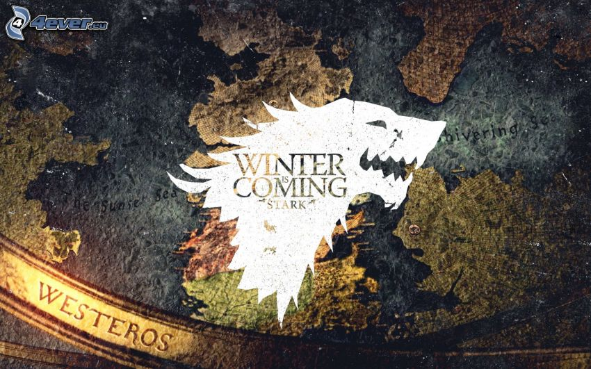 Winter is coming, A Game of Thrones, mapa
