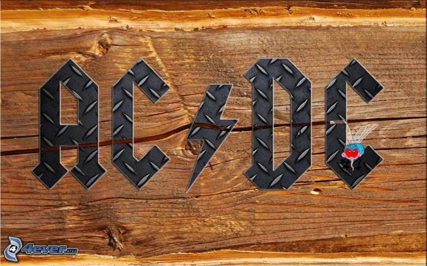 AC/DC, drewno