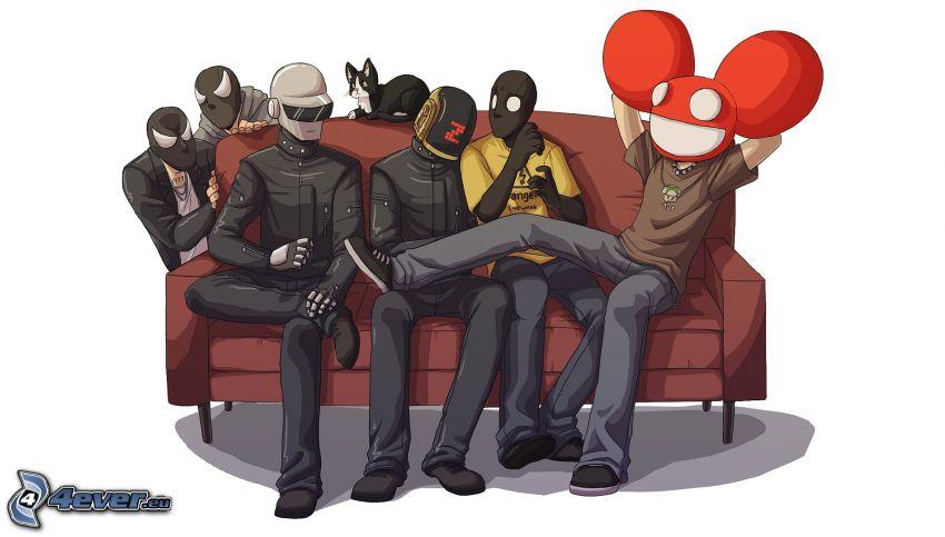 deadmau5, Daft Punk